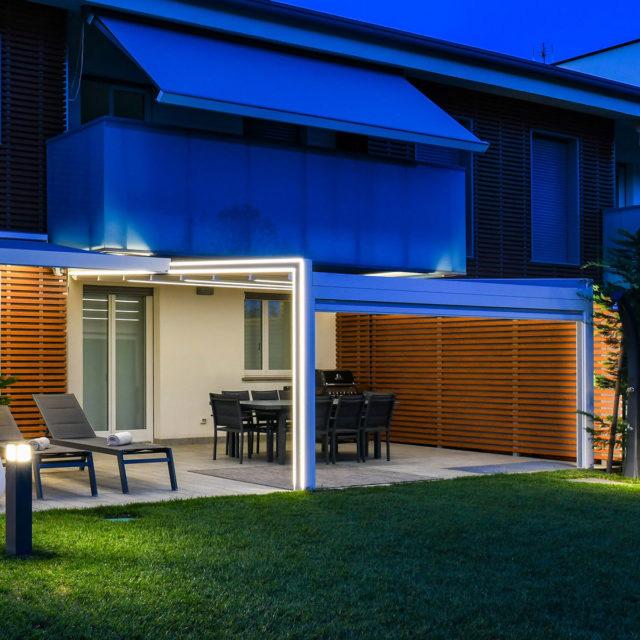 Protections solaires toit en pente